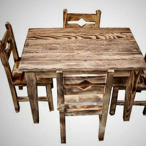 Ahşap Masa Sandalye Takımı-TYF22