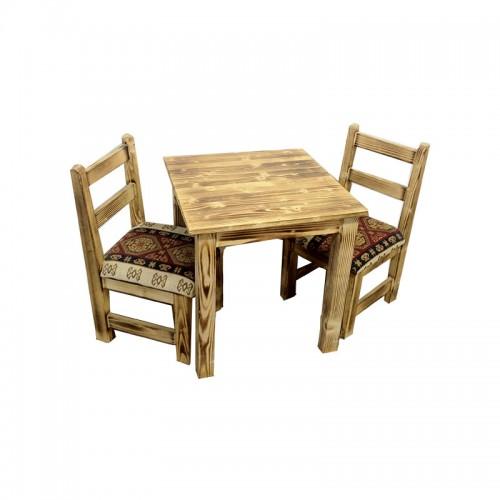 Cafe Ahşap Masa Sandalye-TYF55