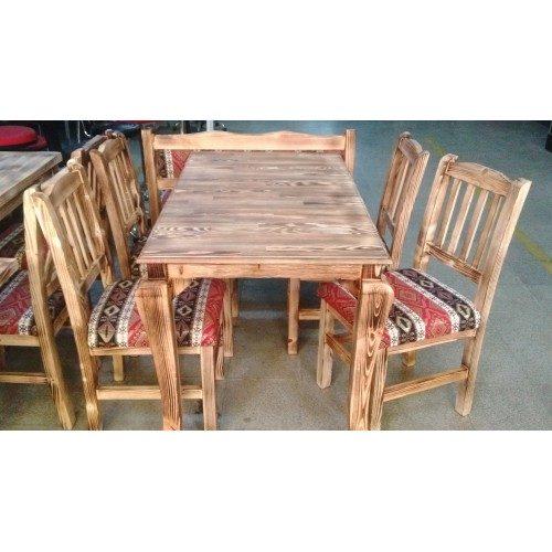 Ağaç Masa Sandalye Modelleri-TYF56