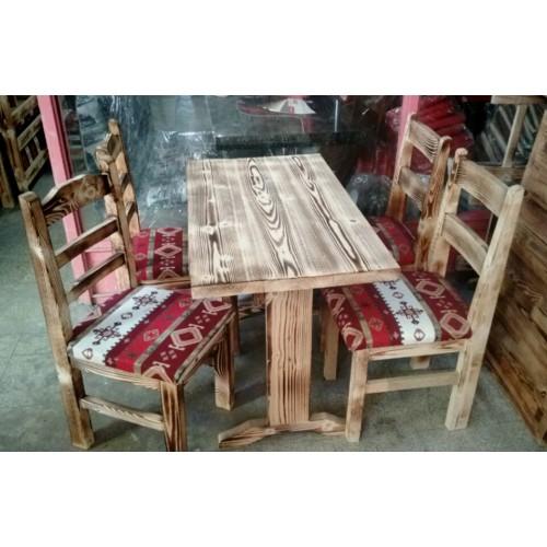 Ahşap Masa Ve Sandalye-TYF51