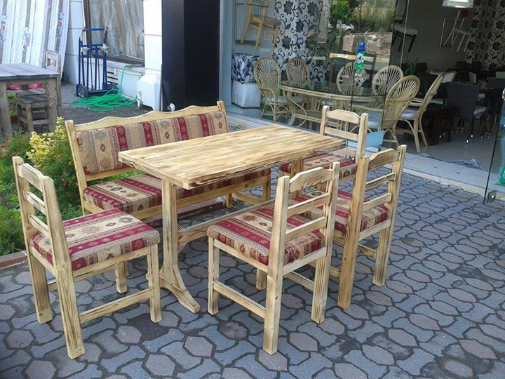 Ahşap Masa Sandalye Modelleri-TYF81